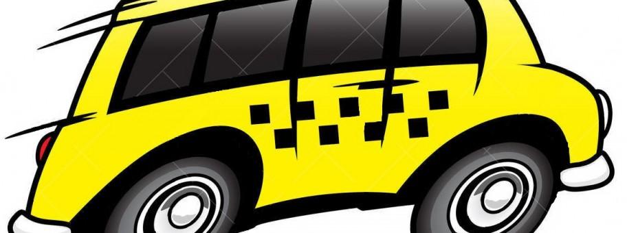 Taxi busje klaar